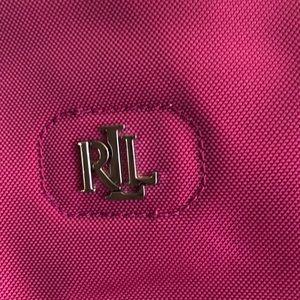 Ralph Lauren Nylon Fuschia handbag
